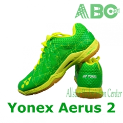 Badminton Shoes Yonex Aerus 2 blue lime