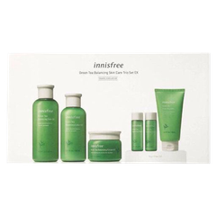 SET TRÀ XANH GREEN TEA BALANCING SKIN CARE TRIO SET EX INISFREE