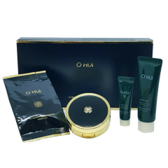 SET PHẤN OHUI ULTIMATE COVER CUSHION MOISTURE 4SP # HỘP ĐEN (SET)