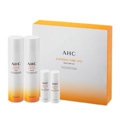 SET AHC SUPERIOR PURE VITA # CAM TONER140ML+ EMULSION 140ML+ 2MINI 25ML (SET)