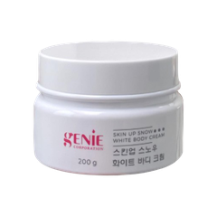 KEM BODY CREAM SNOW WHITE 200G GENIE (HỘP)