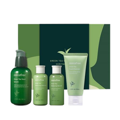 SET TRÀ XANH GREEN TEA SEED SERUM HERITAGE BOX