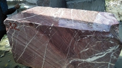 NATURAL STONE - IMPORTED MARBLE BLOCK - ROSSO LEPANTO