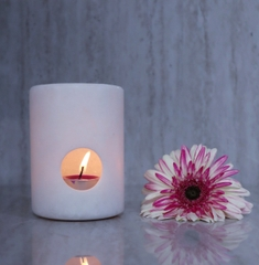 STONE PRODUCT - MARBLE CANDLE HOLDER