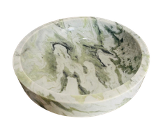 NATURAL STONE BATHROOM BASIN - GREEN ONYX - ON80