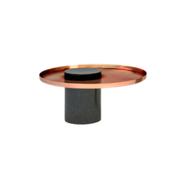 MARBLE SIDE TABLE - ROUND MINI CAFE TABLE T8