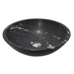 NATURAL STONE BATHROOM BASIN - ITALY BLACK - BST03A