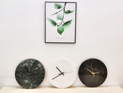 STONE PRODUCT - ROUND MARBLE TABLE CLOCK