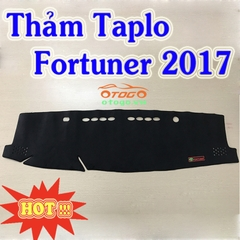 Thảm Taplo Nhung Cao Cấp Toyota Fortuner 2017