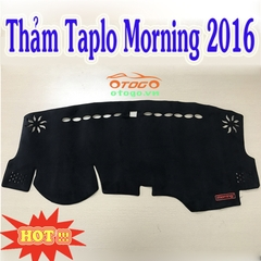 thảm taplo Morning 2016