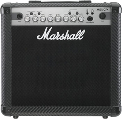 Ampli Guitar Marshall MG15CFX Carbon Fibre Series 15W Combo