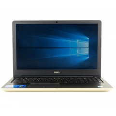 Laptop Dell Vostro 5568 Core i5 7200U/ Ram 4Gb/ HDD 1Tb/ Màu Gold Màn 15.6