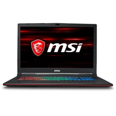 Laptop Gaming  MSI GV72 7RE 1494VN Core i7 7700HQ/ Ram 8Gb/ HDD 1Tb/ GTX 1050 Ti/ Màn 17.3