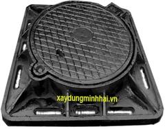 NHG khung âm gang Cầu: 850x850x Ø650mm