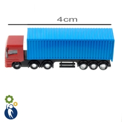 Xe Container Ngắn 1:200