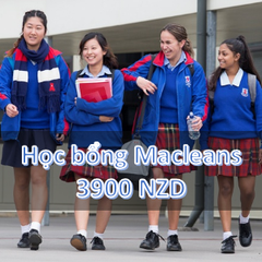Học bổng Trường PTTH Macleans - Auckland