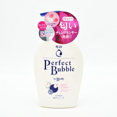 SỮA TẮM NHẬT BẢN PERFECT BUBBLE FOR BODY SWEET FLORAL+ 500ML