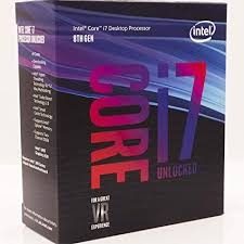 CPU Intel Core i7 8700K 3.7Ghz Turbo Up to 4.7Ghz / 12MB / 6 Cores, 12 Threads / Socket 1151 v2 (Coffee Lake )