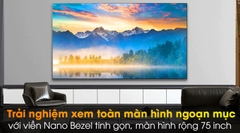 Smart Tivi NanoCell LG 8K 75 inch 75NANO95TNA Model 2020