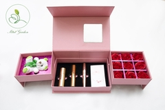 Mini Garden Pink Rose Giftset - With Love Giftset