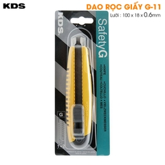dao rọc nilon 18mm KDS G-11;