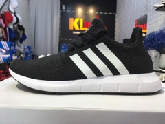 Adidas Swift Run Shoes Black White