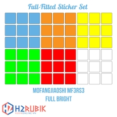 MF3RS3 Full Fitted Sticker Set - Giấy dán MF3RS3 tràn viền full bright