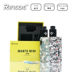 Rincoe Manto Mini 90W  Mod + Metis RDA Kit