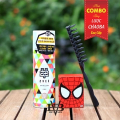 Combo Gôm 2Vee 230ml + Sáp 2Vee Hard Wax Spider Man series 2