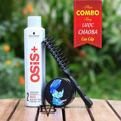 COMBO Gôm Osis+ 2 Freeze Finish 300ml + Sáp Blumaan Meraki Tê Giác