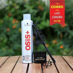 Combo Gôm Osis+ 3 Session Finish 300ml + Sáp By Vilain Gold Digger 65ml