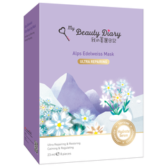 Mặt Nạ My Beauty Diary Hoa Nhung Tuyết - Alps Edelweiss Ultra Repairing
