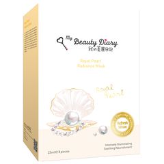 Mặt Nạ My Beauty Diary Bột Ngọc Trai - Royal Pearl Radiance Brightening 8 miếng