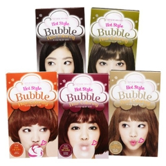 Nhuộm tóc bọt Etude Hot style bubble hair coloring