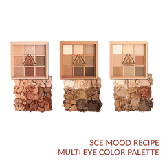 Bảng mắt 9 màu 3CE MOOD ON AND ON RECIPE MULTI EYE COLOR PALETTE