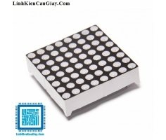 Led Matrix 8x8 3mm (Màu đỏ Anot)