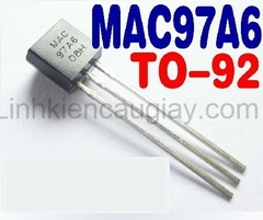 TRIAC MAC97A6 TO92 0.6A 600V