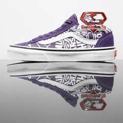 VANS Style 36 Old Skool (OTW Repeat) Loganberry True White