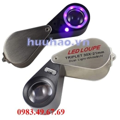 Kính lúp led loupe triplet 30x-21mm