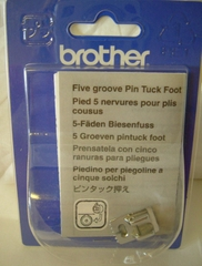 chan-vit-may-5-gan-noi-brother-f037n-pin-tuck-5-groove