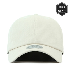 Nón Ballcap FLIPPER Washing trơn FB011 (Be) - Size lớn (59~61cm)