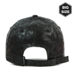 FB043 BIG-Triangle pattern ballcap BK/BK