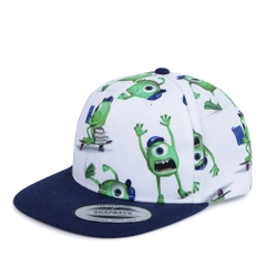 FELTICS KIDS DISNEY MONSTER SNAPBACK WHITE/NAVY