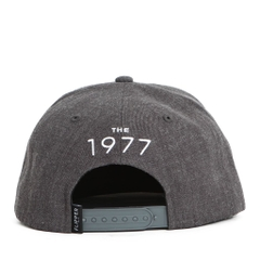 Nón Snapback FLIPPER rectangle X FL050 (Xám đậm)