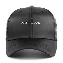 Nón Ballcap FLIPPER THUG Out Law FL418 (Đen)