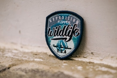 Patch WILD_NAVY (Dán + Ủi)