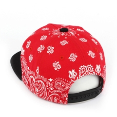 P267 SNOW PAISELY/RED.WH