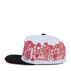 Nón Snapback PREMI3R PAISELY (Trắng)
