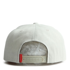 Nón Snapback PREMI3R Leather heatprinting circle P894 (Be)