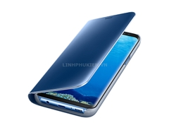 Bao da Clear View Standing Cover Samsung Galaxy S8 Plus xanh (Blue Coral)
